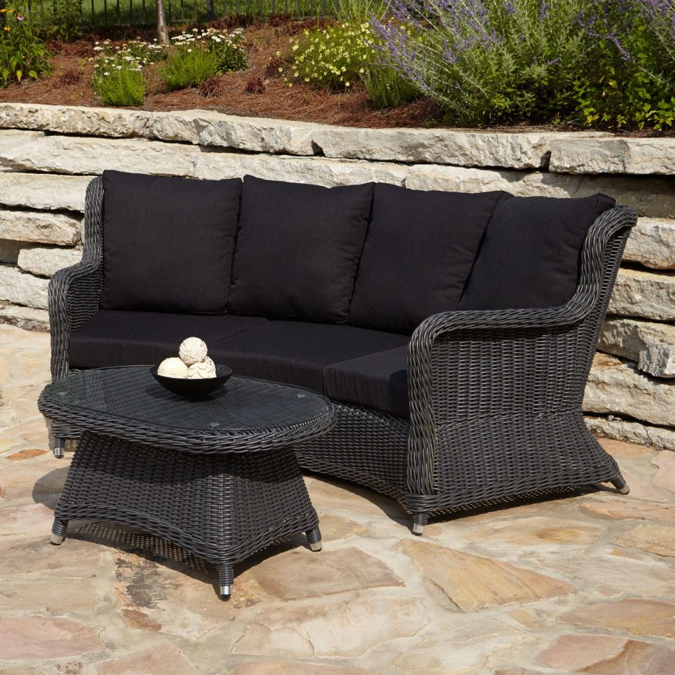 outdoor wicker furniture photo - 3