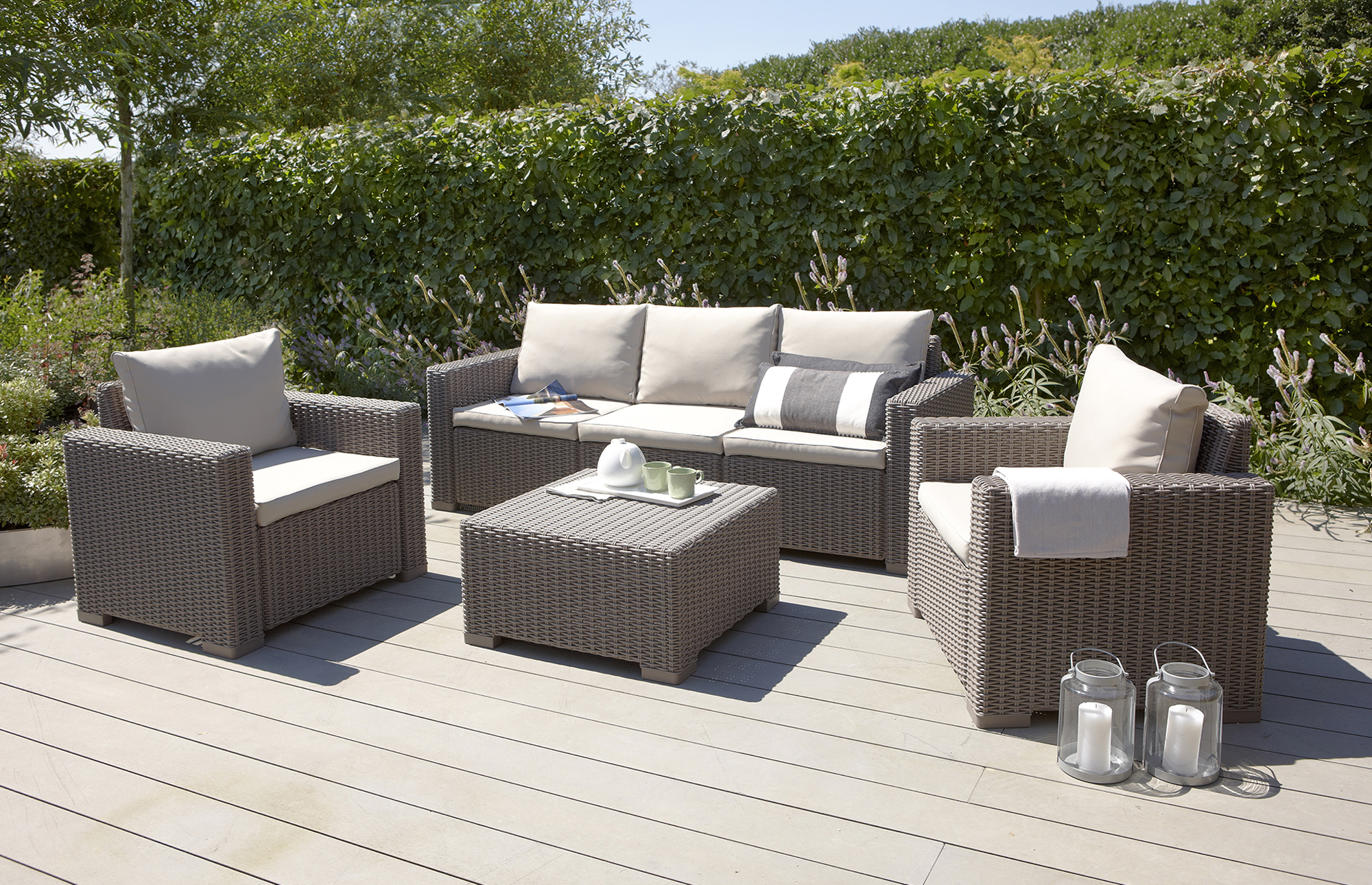 outdoor wicker furniture photo - 5