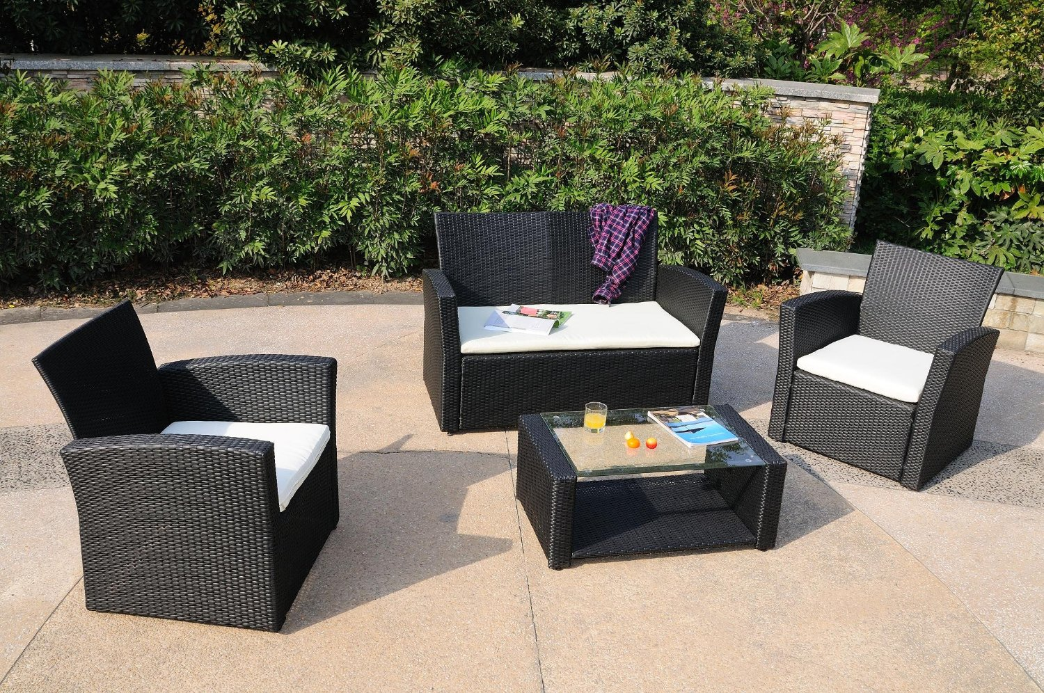 outdoor wicker furniture photo - 8