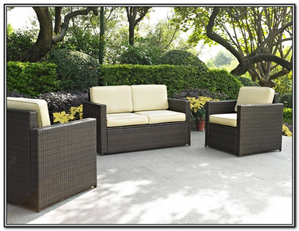 outdoor wicker furniture photo - 9