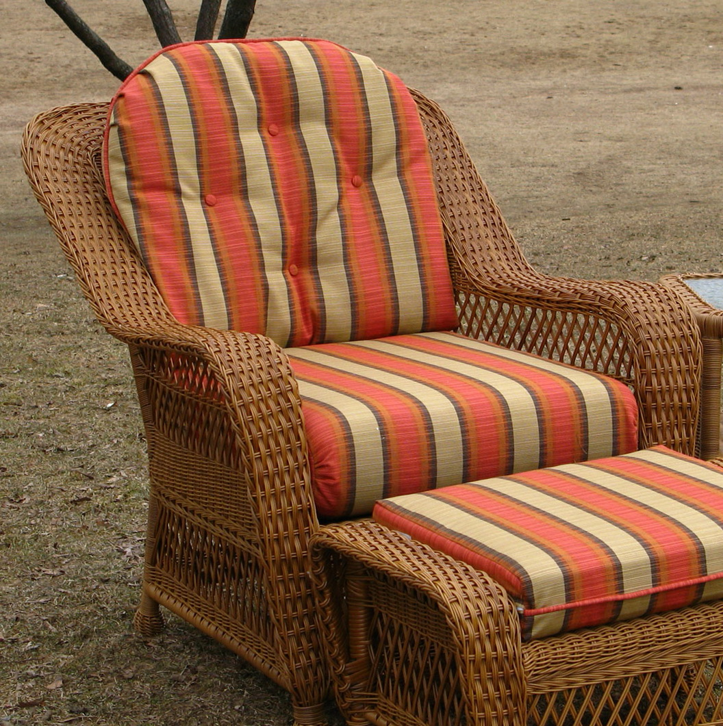 outdoor wicker furniture cushions photo - 10