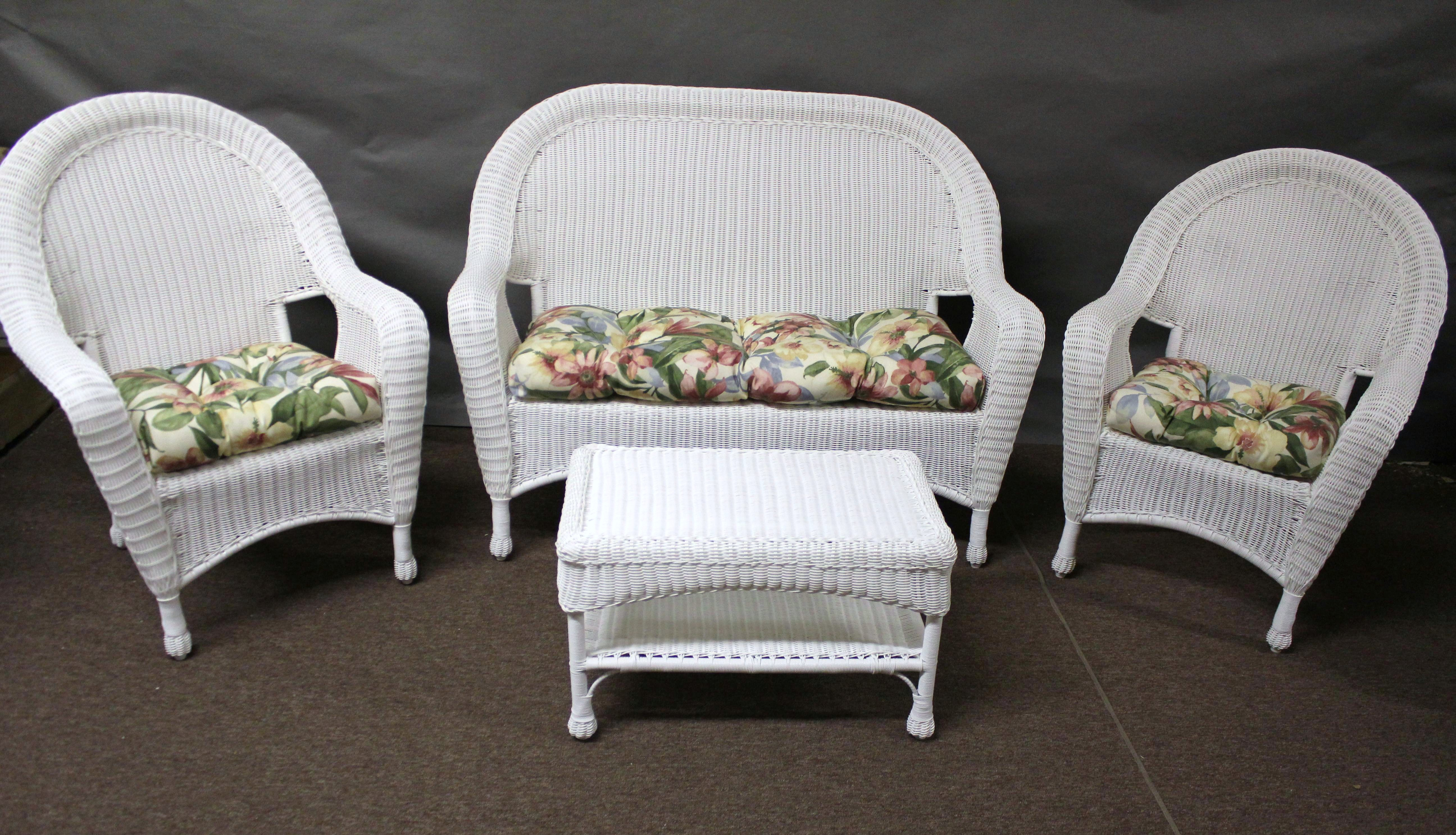 outdoor wicker furniture cushions photo - 4