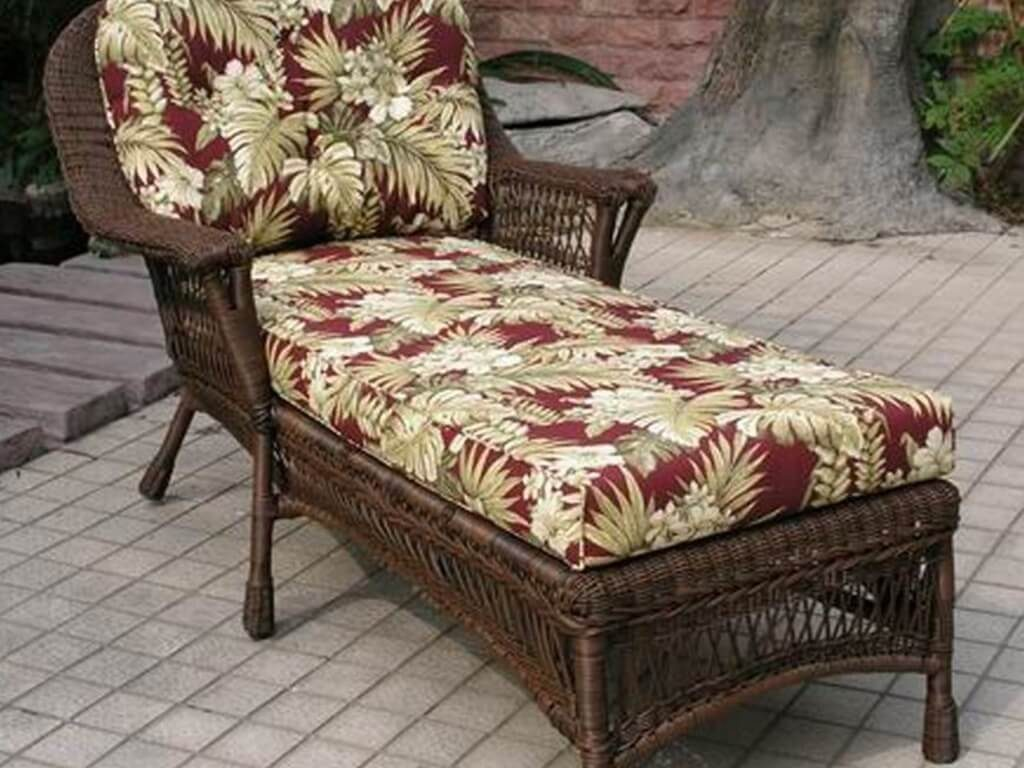 outdoor wicker furniture cushions photo - 8