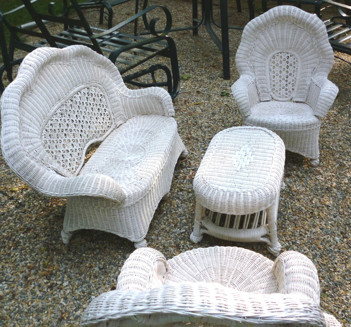outdoor wicker furniture for children photo - 2