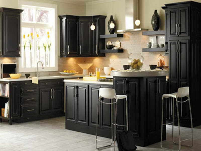 paint kitchen cabinets ideas what color photo - 10