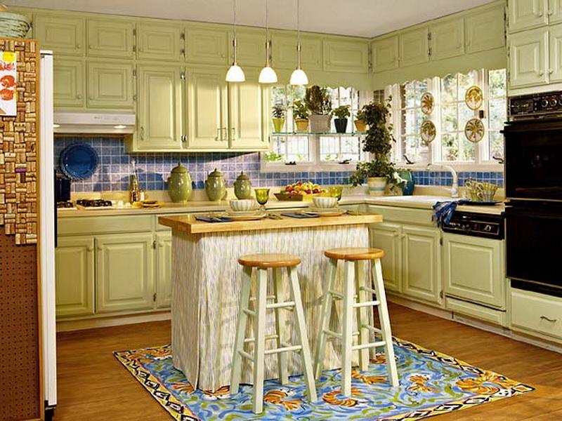 Paint Kitchen Cabinets Ideas What Color Photo 2