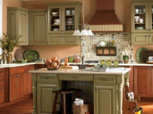 paint kitchen cabinets ideas what color photo - 4