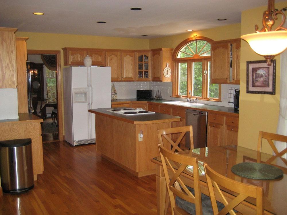paint kitchen cabinets ideas what color photo - 9