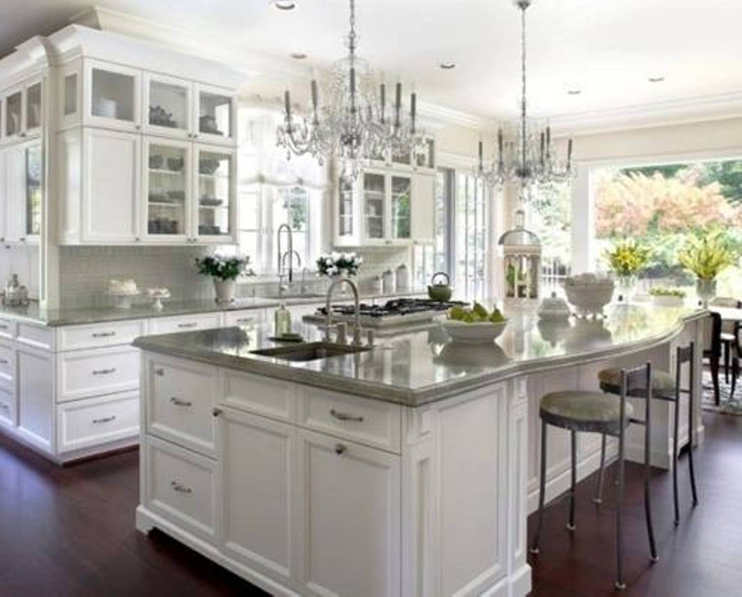 painted kitchen cabinet ideas white photo - 4