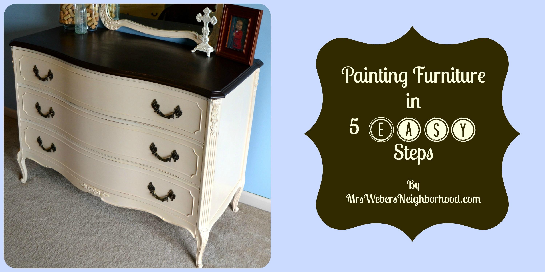 painting my bedroom furniture black photo - 5