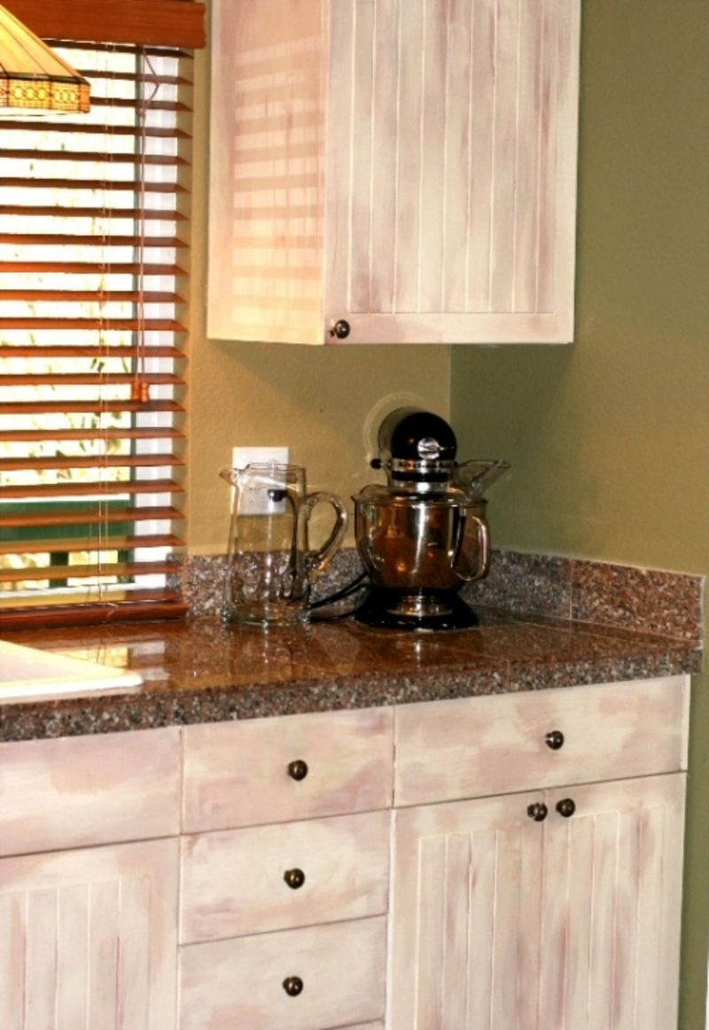 Painting Old Kitchen Cabinets Ideas Photo   2