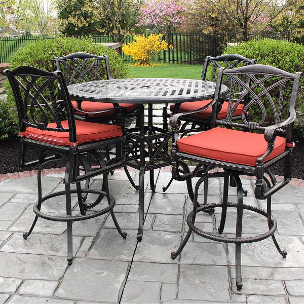 patio dining sets balcony height photo - 2
