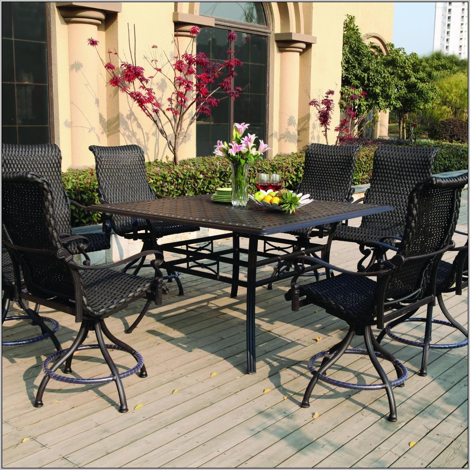 patio dining sets balcony height photo - 7