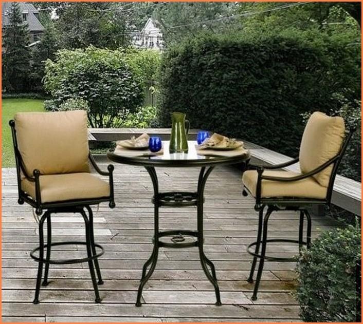 patio dining sets balcony height photo - 8
