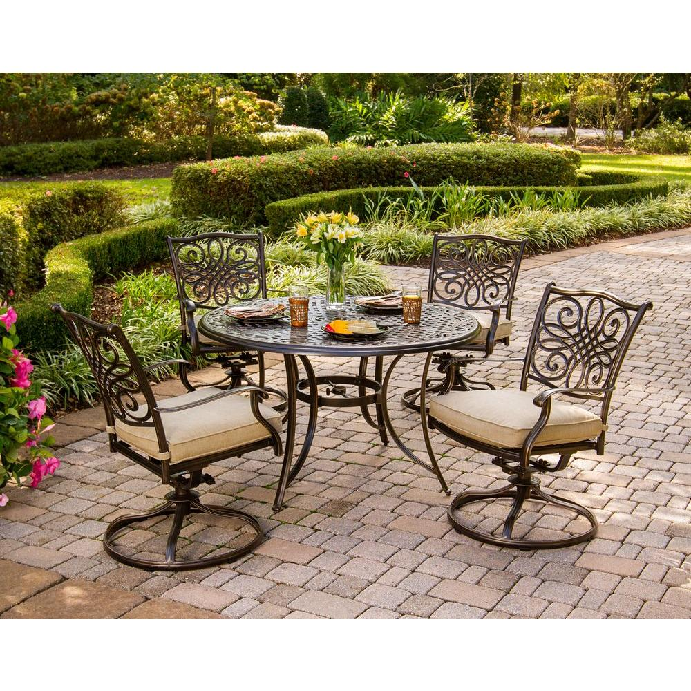 patio dining sets for 4 photo - 2