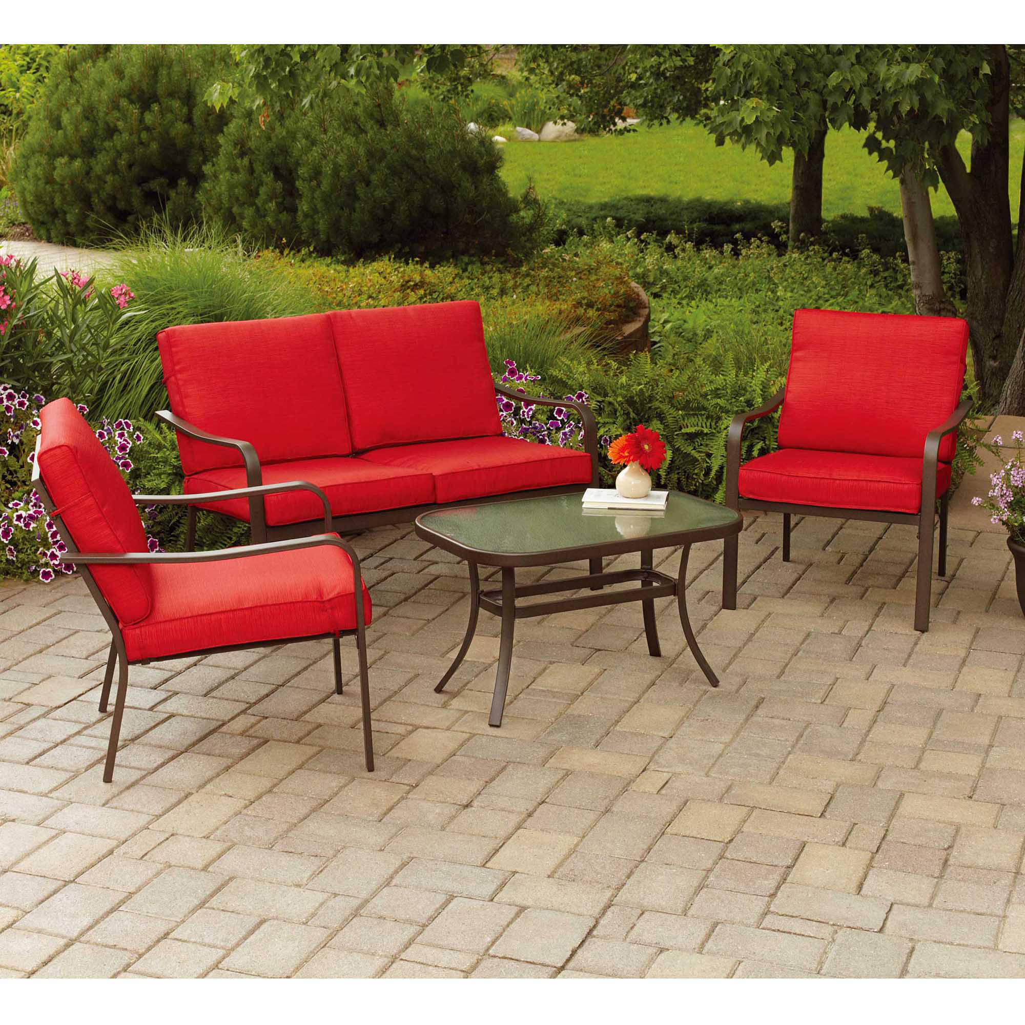 patio dining sets for 4 photo - 3