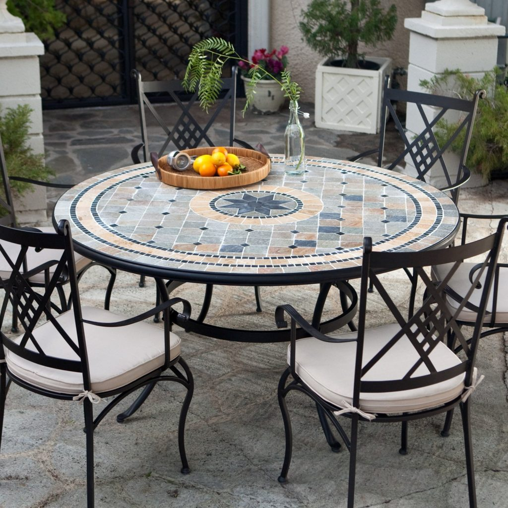 patio dining sets for 6 photo - 1