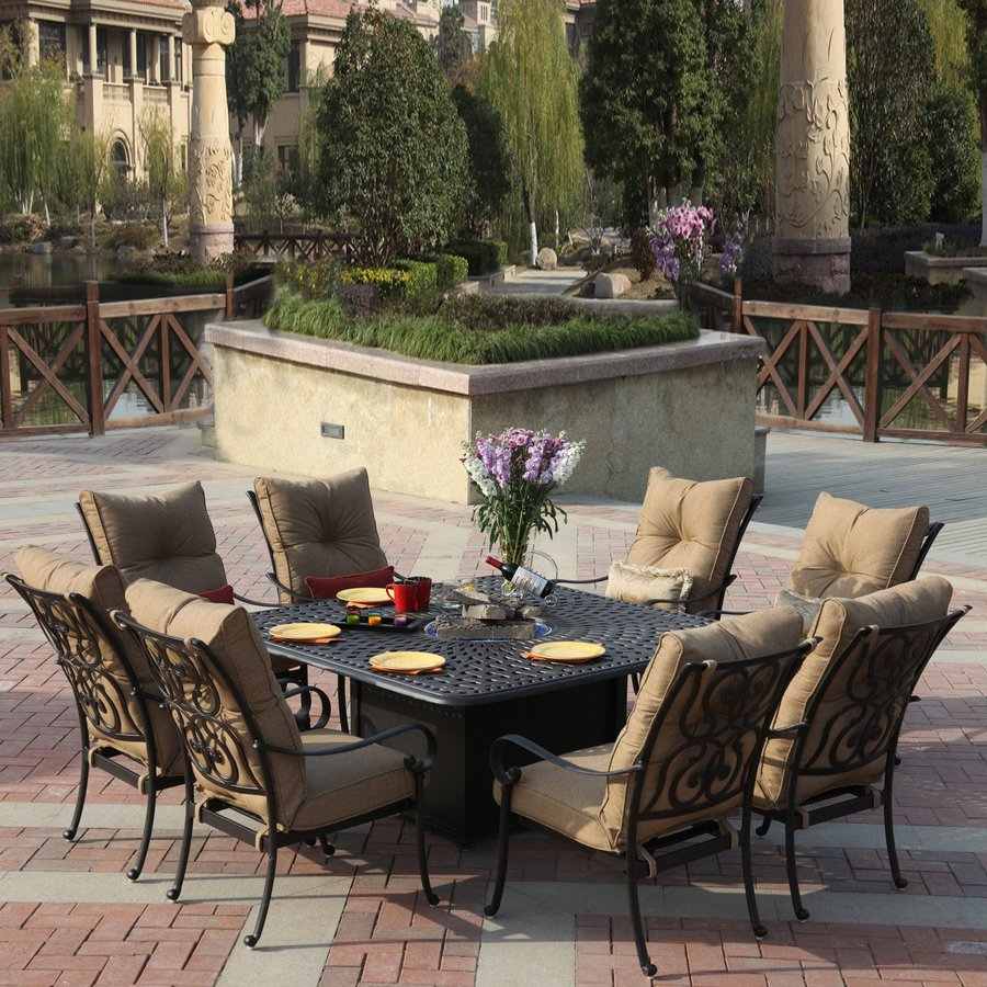 patio dining sets for 6 photo - 6