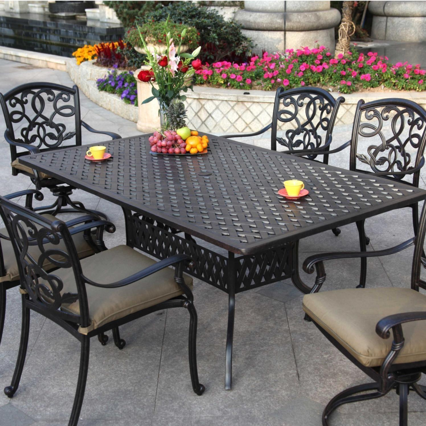 patio dining sets for 6 photo - 7