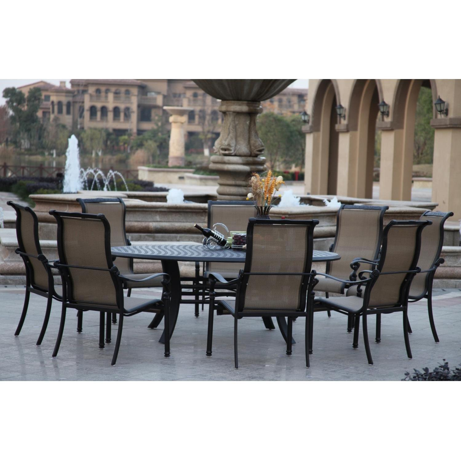patio dining sets for 8 photo - 10