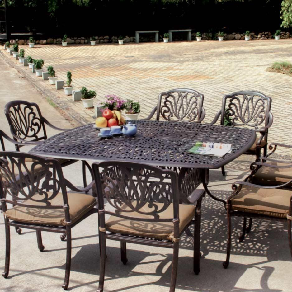 patio dining sets for 8 photo - 9