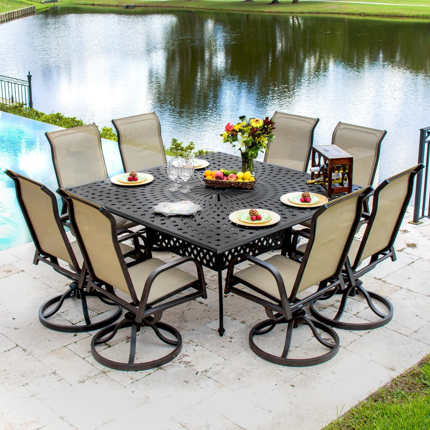 patio dining sets for 8 people photo - 7