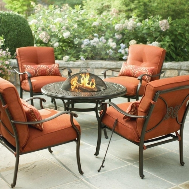 patio dining sets with fire pits photo - 9