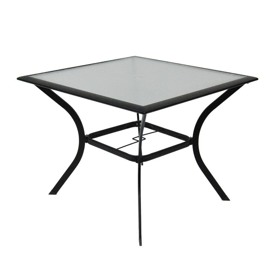patio dining table glass top photo - 5