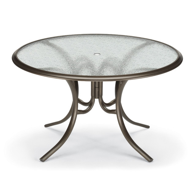 patio dining table glass top photo - 7