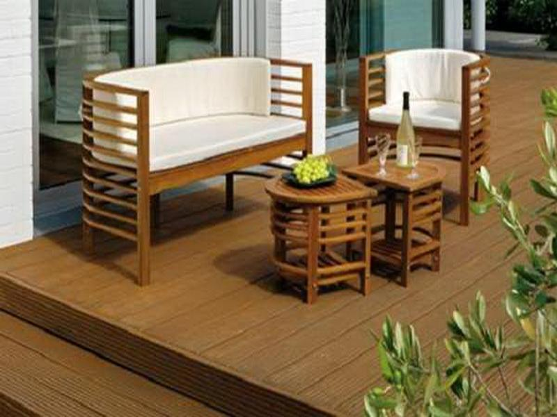 patio furniture for small spaces photo 1 - Small Space Patio Furniture