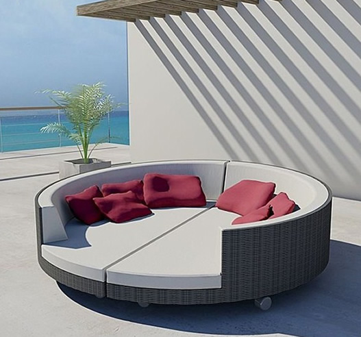 patio furniture lounge bed photo - 2