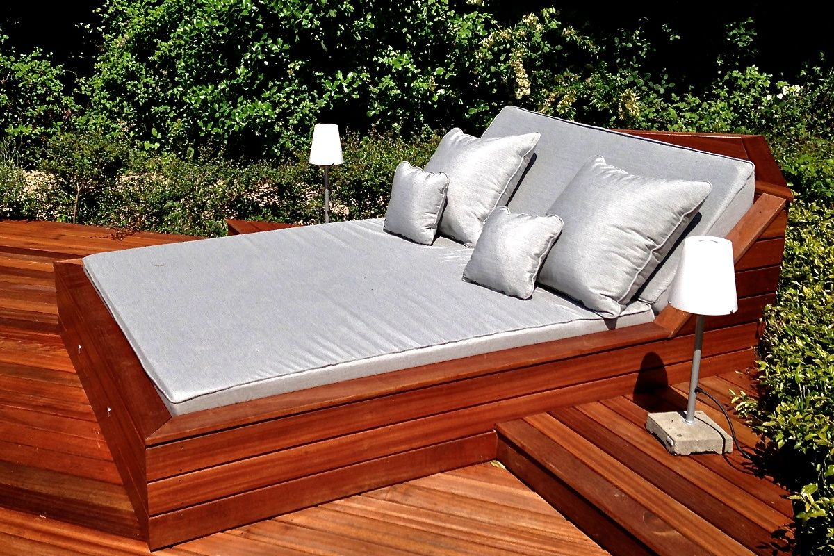 patio furniture lounge bed photo - 9