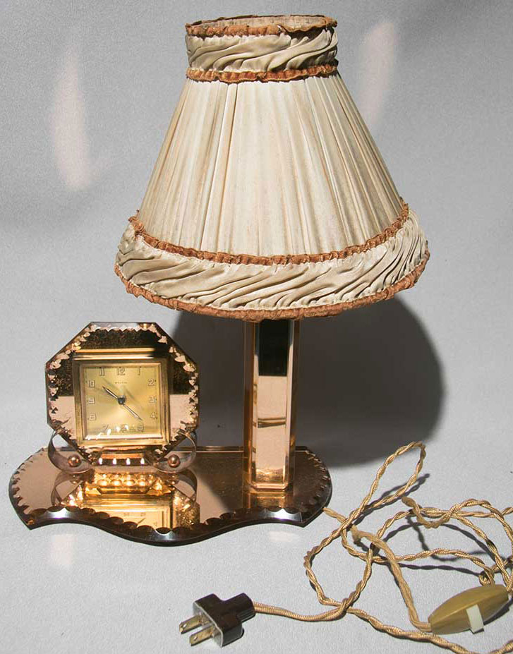 peach bedroom lamp photo - 2