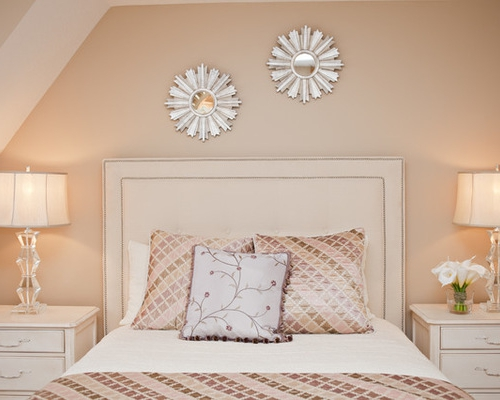 peach bedroom lamp photo - 4