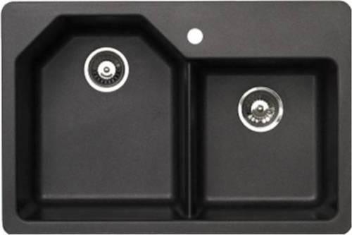 pegasus black granite kitchen sink photo - 2