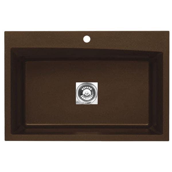 pegasus black granite kitchen sink photo - 6
