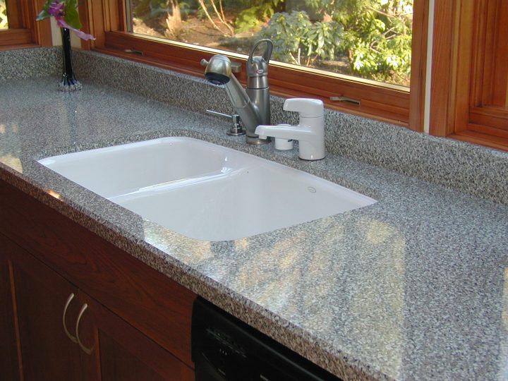 pegasus black granite kitchen sink photo - 9