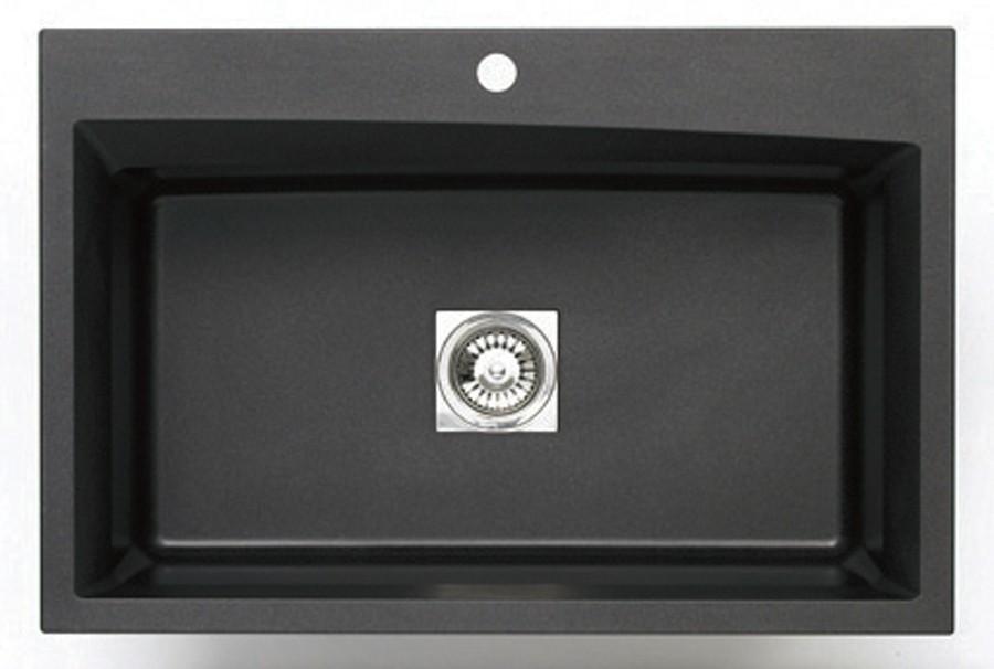 pegasus black granite sink photo - 1