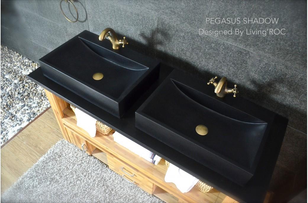pegasus black granite sink photo - 2