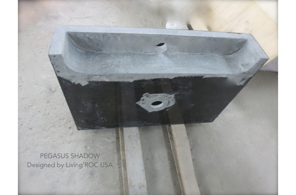 pegasus black granite sink photo - 8