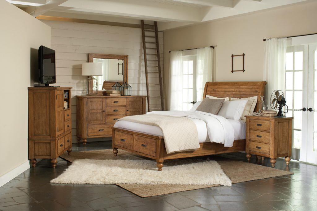 pine bedroom furniture decorating ideas photo - 3