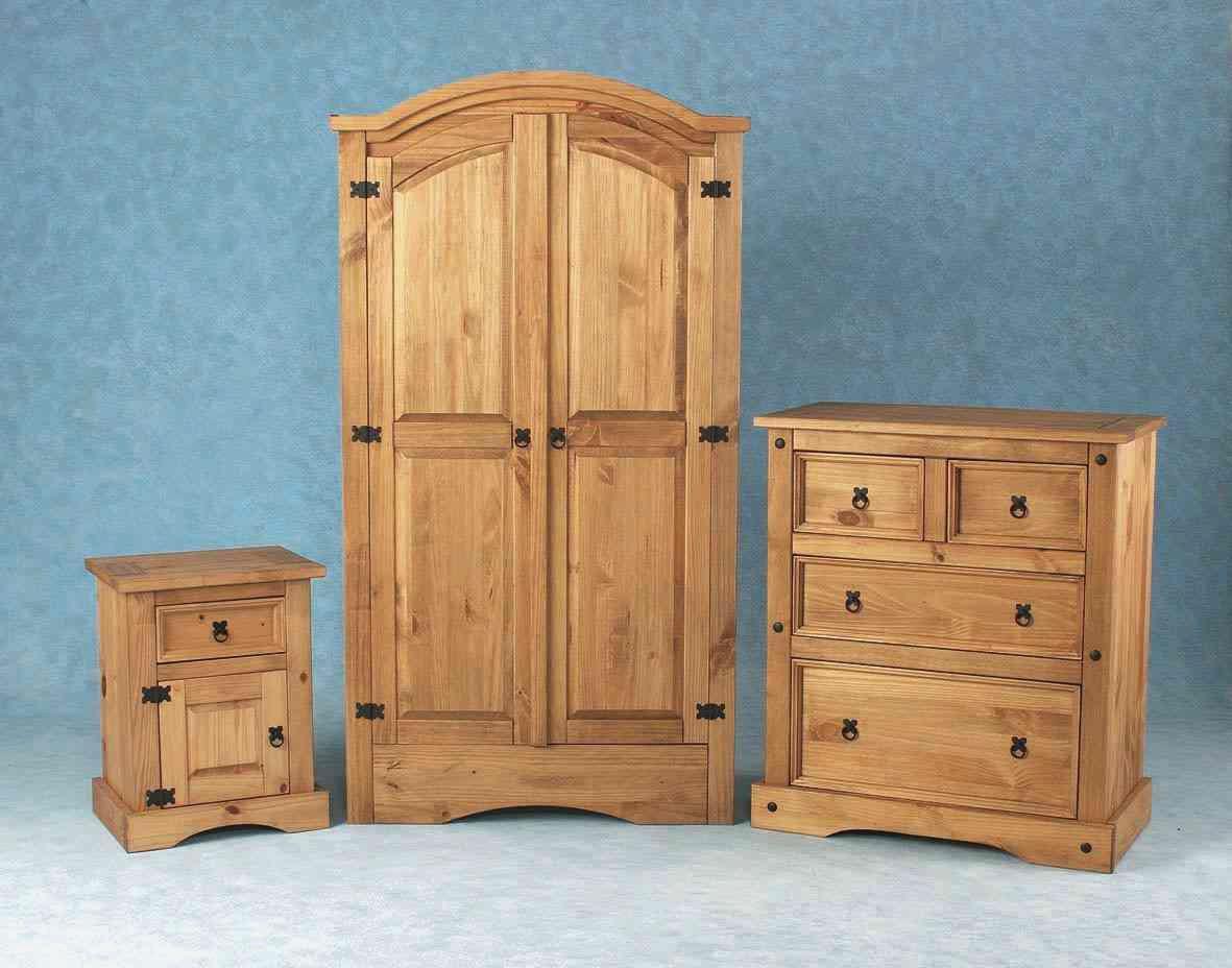 pine bedroom furniture decorating ideas photo - 9