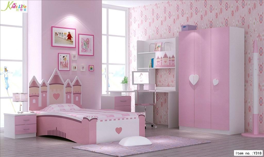 Pink Bedroom Furniture For Kids Photo 1