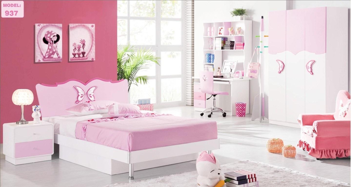 pink bedroom furniture for kids photo - 10