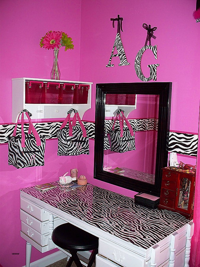 pink leopard print bedroom accessories photo - 10