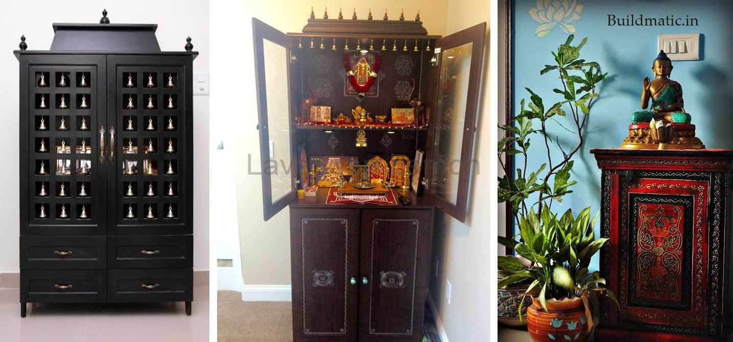 pooja room cupboard designs photo - 5