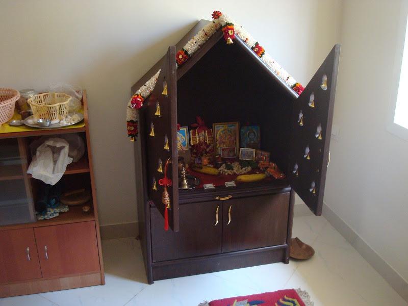 pooja room cupboard designs photo - 7