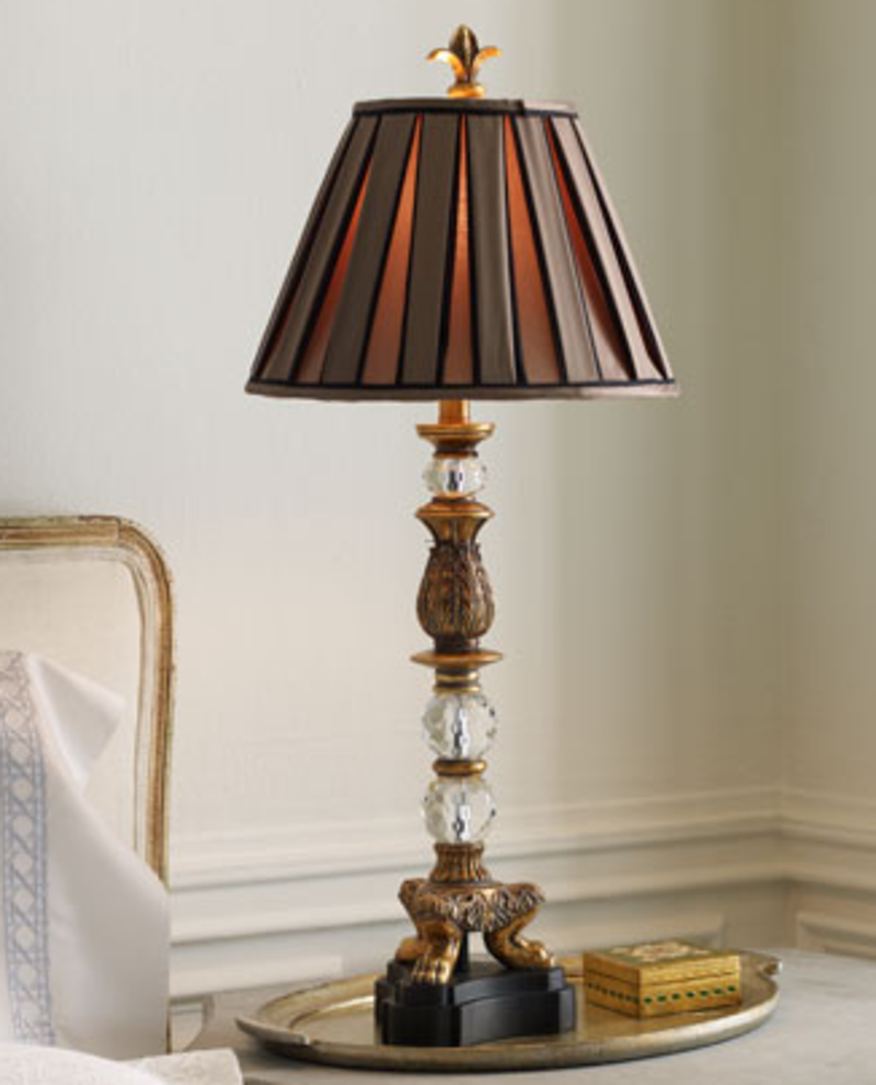 pretty bedroom lamp shades photo - 5