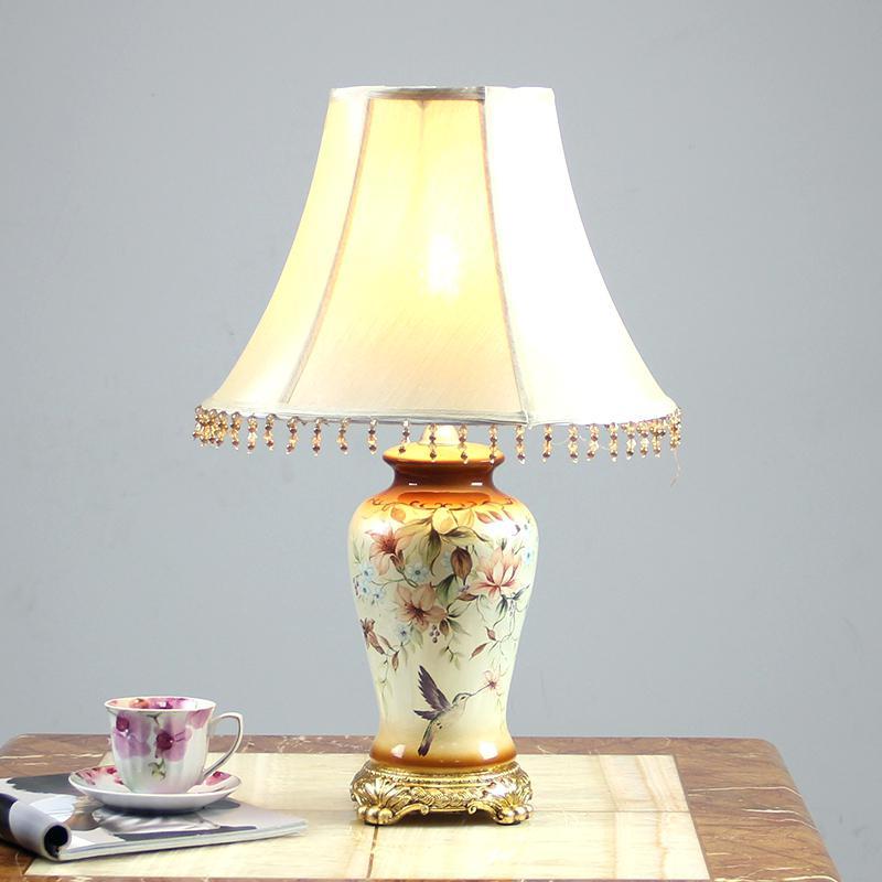 pretty bedroom lamp shades photo - 9