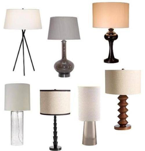 proper bedroom lamp height photo - 2